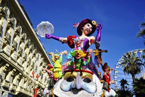 Ницца карнавал