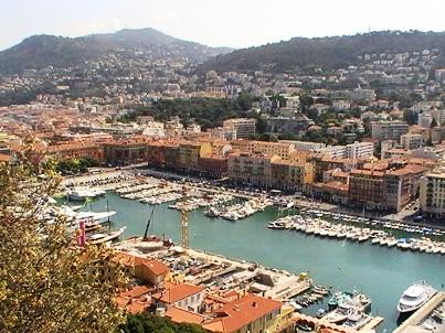 Вид на порт Ниццы