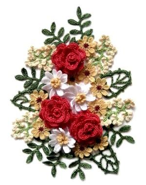 из старого клубка шерсти может получиться красивый цветок