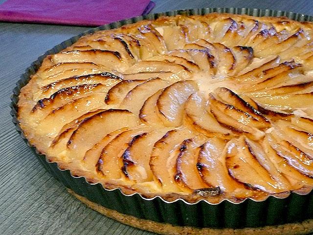 Яблочный французский пирог