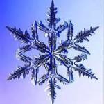 кристаллы похожие на снежинки