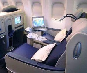 бизнес-класс в самолете
