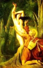 Орфей с умирающей Эвридикой